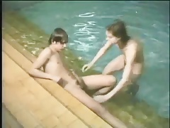 Vintage Fun At The Pool