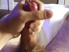 Huge Cum with a 10MM Sounding Rod Inside