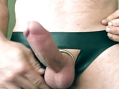 Latex cock ring