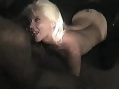 Blonde SlutWife wants BBC's to cum in her mouth