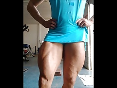 giant brazilian muscle legs