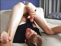 Huge Cock Twink Plays