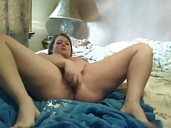Fat BBW Teen GF Morning pussy squirting masturbation