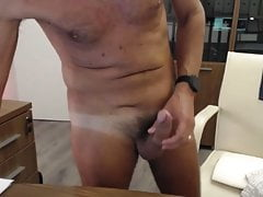Slim hung dad