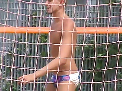 Let's spy next door Italian males in speedos iis0