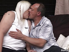 Her husband cheating with blonde bbw
