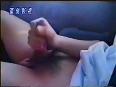 sexy Japanese boy masturbates while driving