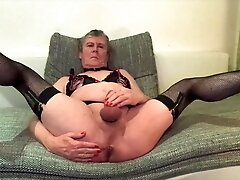 Geile-Nacktheit Stroking and Toying