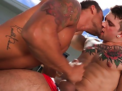 FalconStudios Sebastian Kross' Big Cock Worshipped
